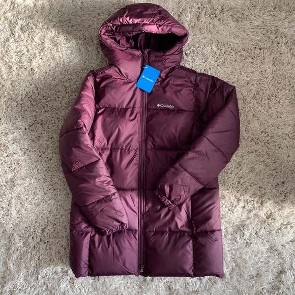 Puffect Mid Hooded Columbia Jacket NWT